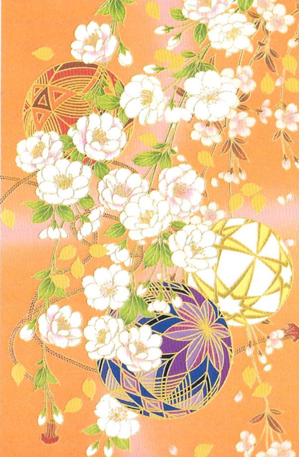 箔押し和カード 京135 「NET Asahi」