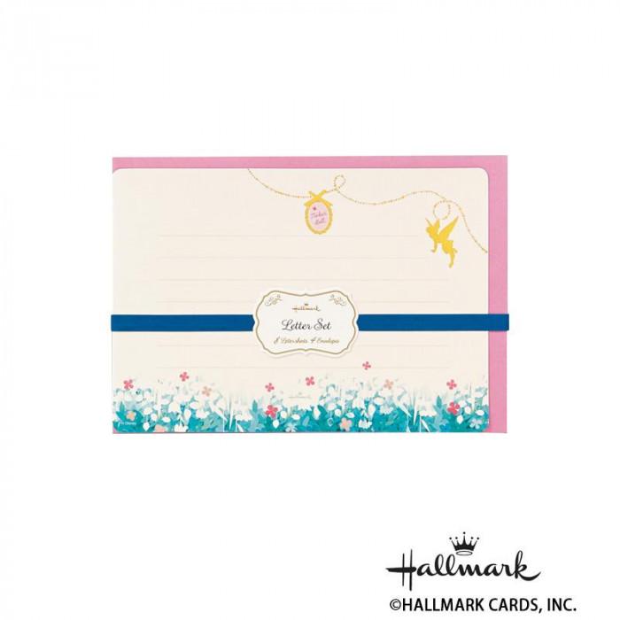 Hallmark ホールマーク ディズニー 便箋封筒セット ティンクのチャーム 6セット 686741「NET Asahi」